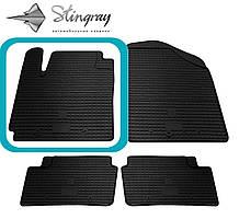 Kia Picanto  2011- Водительский коврик Черный в салон