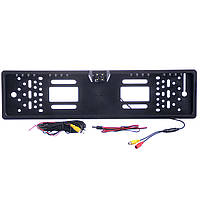 Автокамера рамка для номера CAR CAM. JX 9488A, Рамка номерного знака. Рамка для автономера с камерой