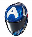Мотошолом Hjc R-PHA-11 Captain America Marvel Limited, фото 2