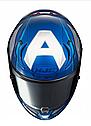 Мотошолом Hjc R-PHA-11 Captain America Marvel Limited, фото 3