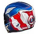 Мотошолом Hjc R-PHA-11 Captain America Marvel Limited, фото 4