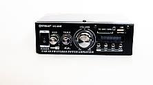 Підсилювач WVNGR WG-699BT USB Блютуз 300W+300W 2х канальний, фото 3