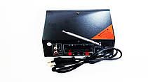 Підсилювач WVNGR WG-699BT USB Блютуз 300W+300W 2х канальний, фото 2
