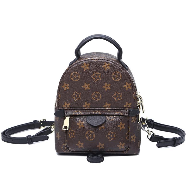 Рюкзак женский Virginia мини коричневый
