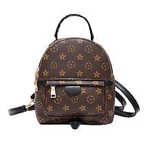 Рюкзак женский Virginia мини коричневый, фото 2