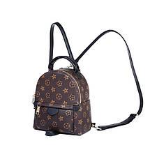 Рюкзак женский Virginia мини коричневый, фото 3