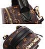 Рюкзак женский Virginia мини коричневый, фото 4