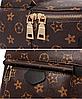 Рюкзак женский Virginia мини коричневый, фото 5