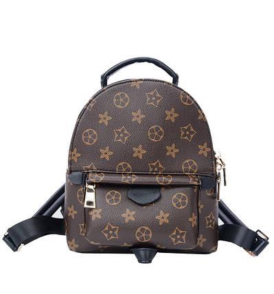 Рюкзак женский Virginia коричневый, фото 2