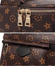 Рюкзак женский Virginia коричневый, фото 3