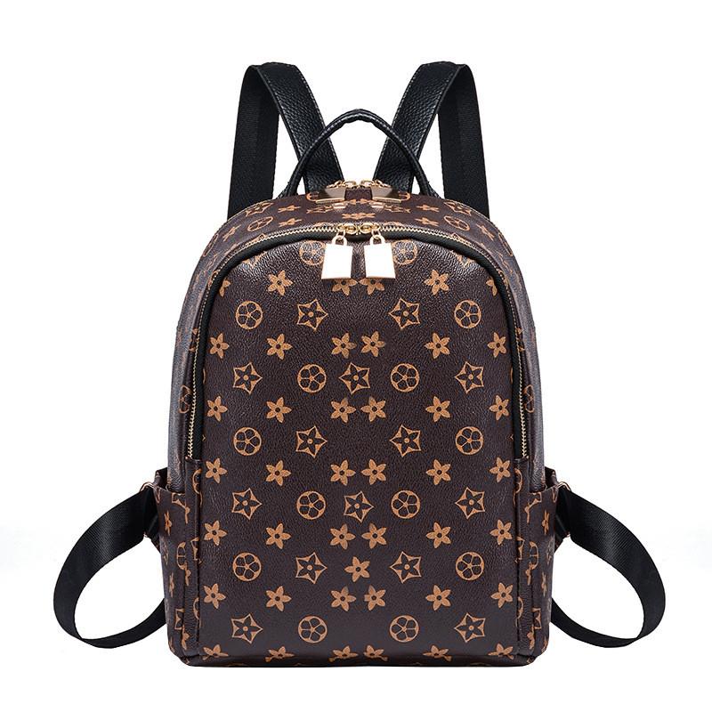Рюкзак женский Virginia Ultra коричневый eps-8048