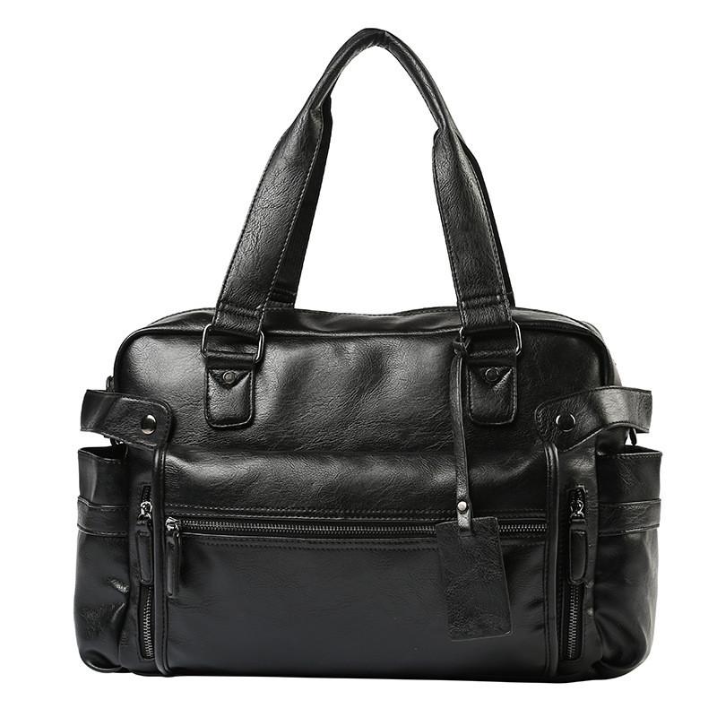 Дорожная сумка мужская BritBag LX черная