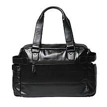 Дорожная сумка мужская BritBag LX черная, фото 2