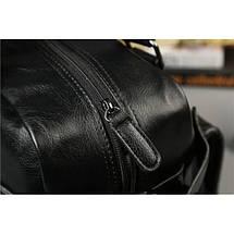 Дорожная сумка мужская BritBag LX черная, фото 3