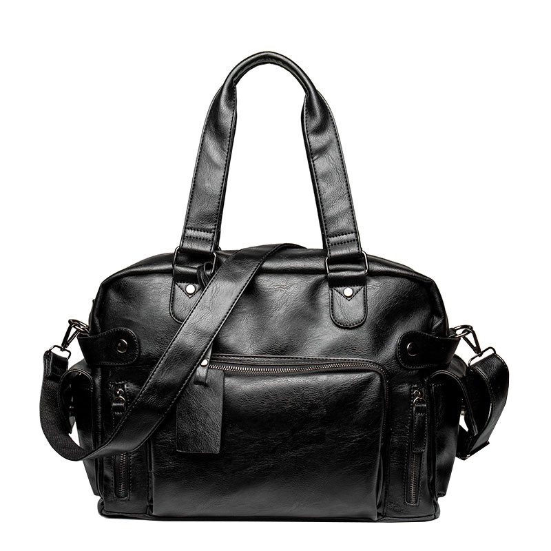 Дорожная сумка мужская BritBag MS черная