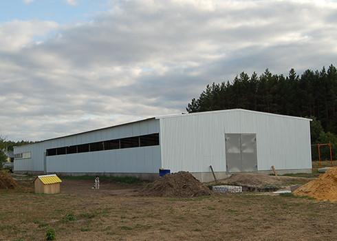 Строительство складов,зернохранилищ,ангаров +