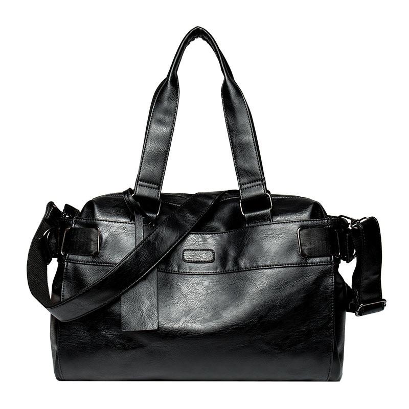 Дорожная сумка мужская BritBag DZ черная