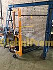 Штабелер ручной гидравлический 1 т 1,6 м, фото 3
