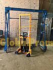 Штабелер ручной гидравлический 1 т 1,6 м, фото 4