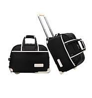 Дорожная сумка женская Sansida NY черная eps-11010