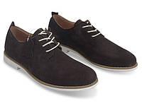 Мужские туфли коричневого цвета из натуральной замшы!, фото 1