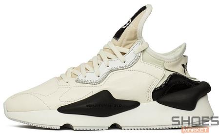 Мужские кроссовки Adidas Y-3 Kaiwa White/Cream BC0907, Адидас У-3, фото 2