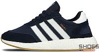 Мужские кроссовки Adidas Iniki Runner I-5923 Boost Navy BY9729, Адидас Иники Ранер I-5923