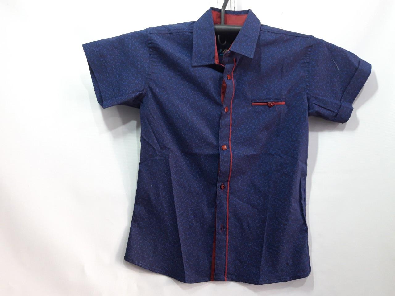 Детская рубашка для мальчика  р. 7-12 лет опт