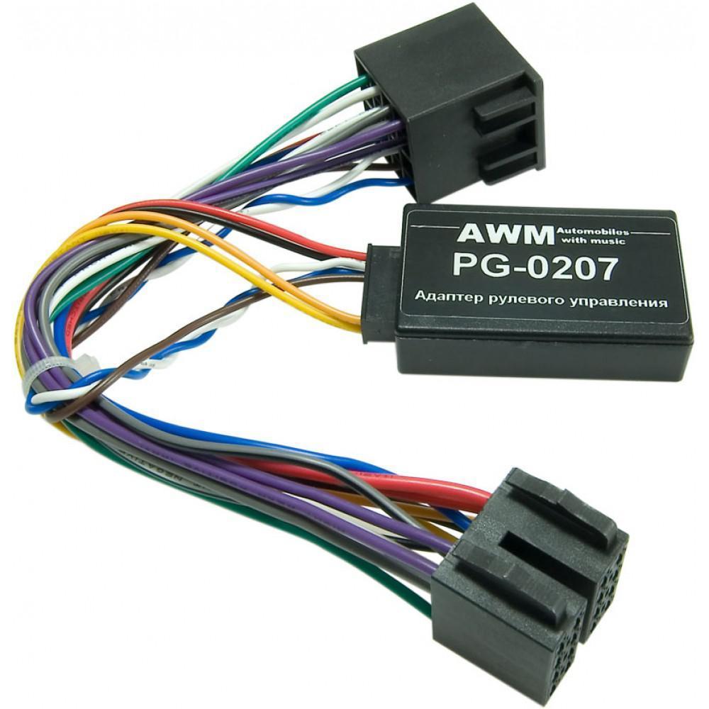 Адаптер рулевого управления AWM PG-0207 Peugeot