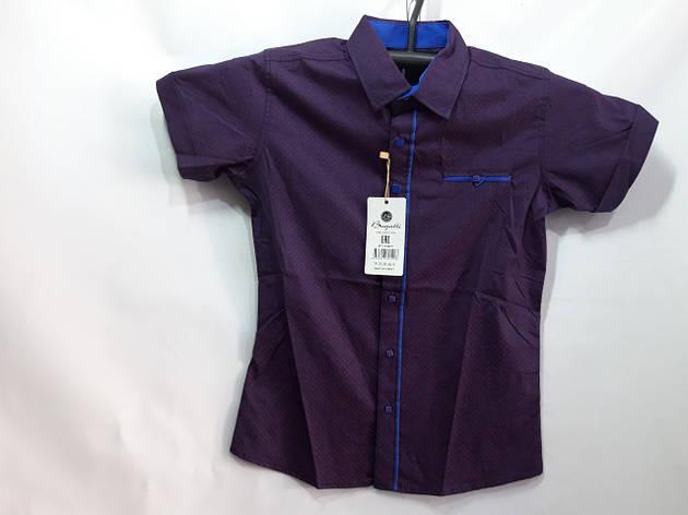 Детская рубашка для мальчика  р. 7-12 лет опт, фото 2