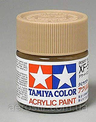 Краска Tamiya XF-59 Desert Yellow