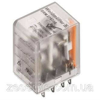 Реле електромагнітне Weidmuller 48V AC, 4CO, LED, test (DRM570548LT)