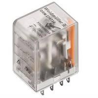 Реле электромагнитное Weidmuller 48V AC, 4CO, LED, test (DRM570548LT), фото 1