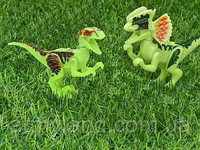Набор №9 Динозавров 4шт светятся в темноте Конструктор, аналог Лего, фото 3