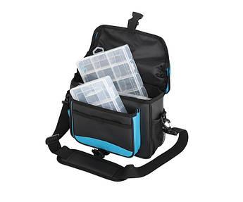 Сумка спиннинговая Flagman Lure Bag с 2 коробками 28х19х8см