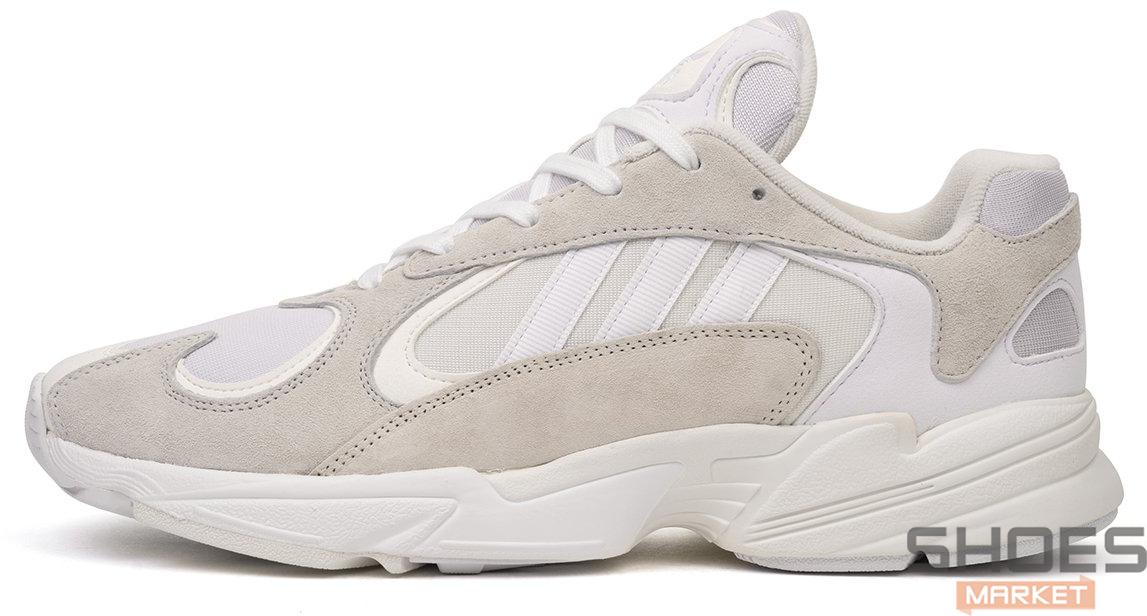 Мужские кроссовки Adidas Yung-1 White / Running White / Cloud White B37616, Адидас Янг 1