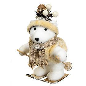 "Декор ""Медвежонок на лыжах"" (28*17*14 см), 012NS"