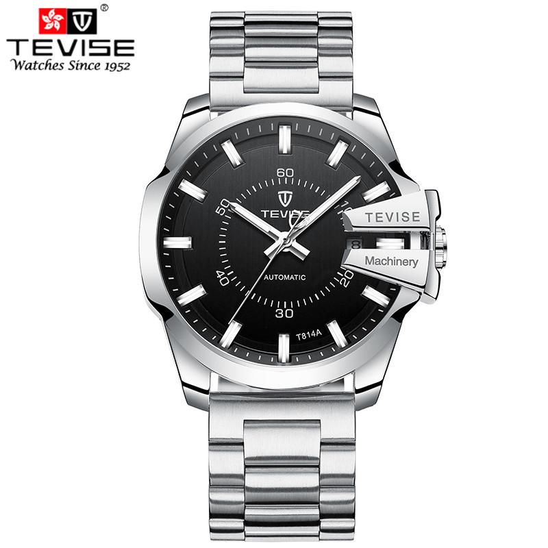 Часы мужские Tevise T814 Silver eps-1045