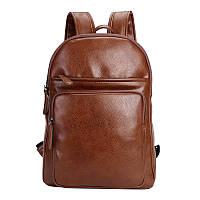 Рюкзак мужской BritBag Webster коричневый