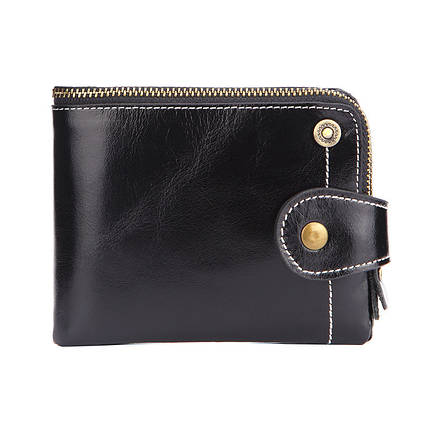 Кошелек женский кожаный Alice RFID 6066 черный eps-4100, фото 2
