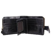 Кошелек женский кожаный Alice RFID 6066 черный eps-4100, фото 3