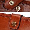 Кошелек женский кожаный Alice S-08 коричневый eps-4104, фото 2