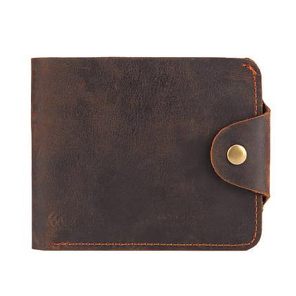 Кошелек мужской кожаный James 6033 коричневый eps-3052, фото 2
