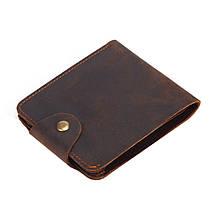 Кошелек мужской кожаный James 6033 коричневый eps-3052, фото 3