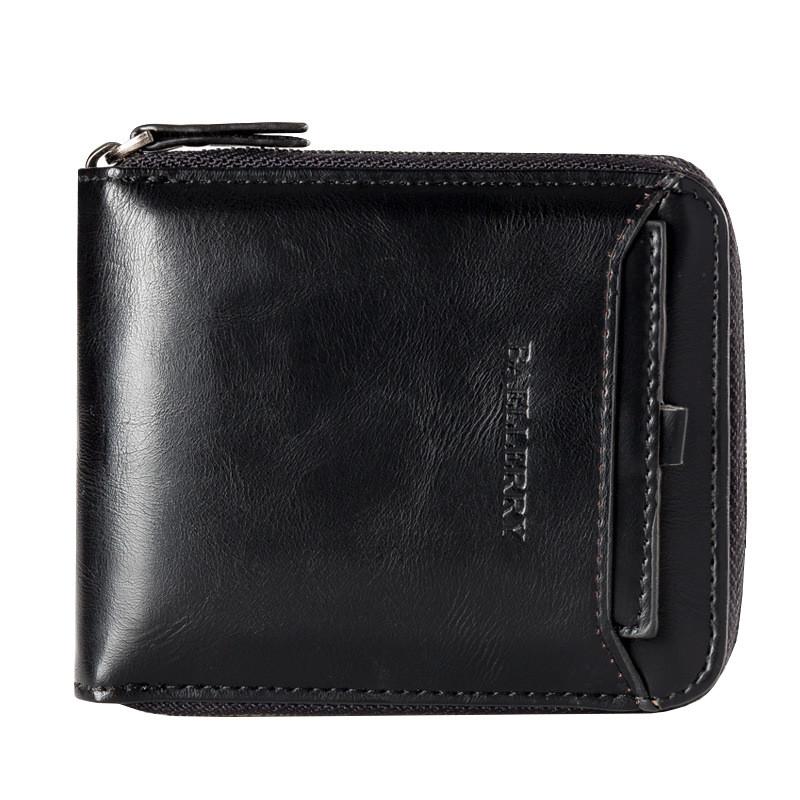 Кошелек мужской Baellerry Gentleman черный eps-3055