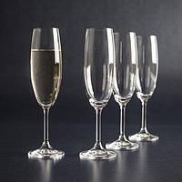 Набор бокалов для шампанского Bohemia Lara 220 мл