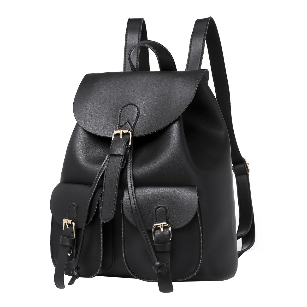 Рюкзак женский Amelie Selina черный eps-8261