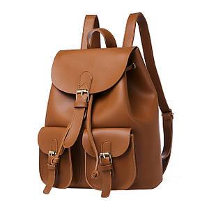 Рюкзак женский Amelie Selina коричневый eps-8262