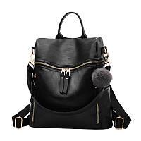 Рюкзак вместительный женский Tia черный eps-8274