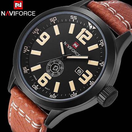 Часы мужские Naviforce NF9057M коричневые eps-1073, фото 2